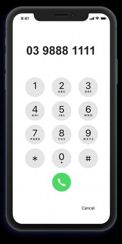 iphonex-kounta-caller-id